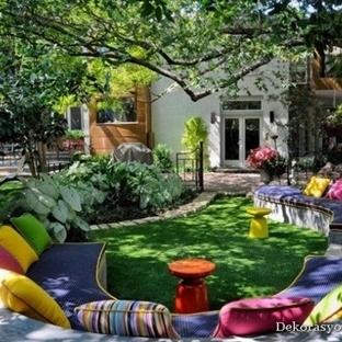 2014 Bahçe Dekorasyonu