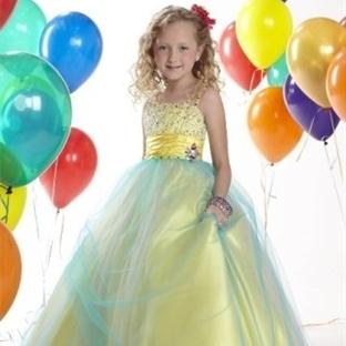 2014 Kız Çocuk Abiye Elbise Modelleri