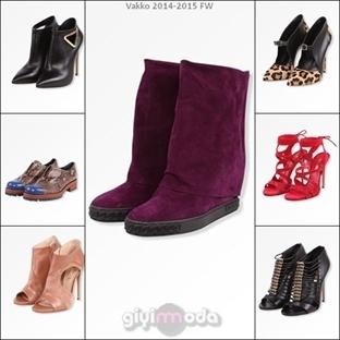2015 Sonbahar Kış Vakko Ayakkabı Bot Koleksiyonu