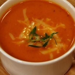 Akdeniz Usulü Domates Çorbası