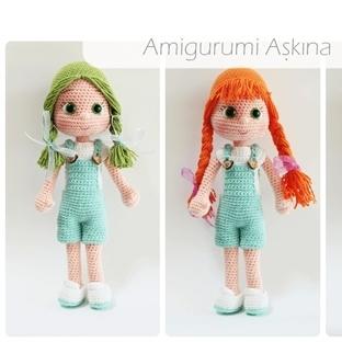 Amigurumi Küçük Kızıma Yeni Kıyafetler