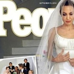 Angelina Jolie - Brad Pitt (Brangelina) Düğünü