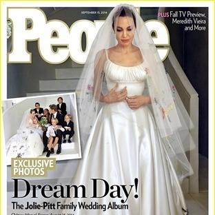 Angelina Jolie ve Brad Pitt Evlendi işte Beklenen