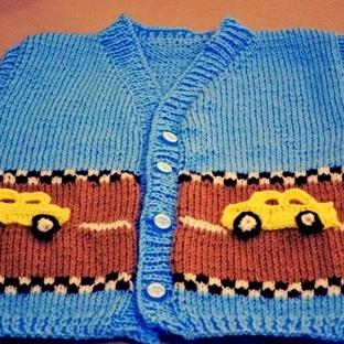 Arabalı Bebek Yeleği Nasıl Yapılır?