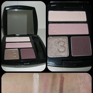 Avon True Color Eyeshadow Quad in Berry Love Swatc