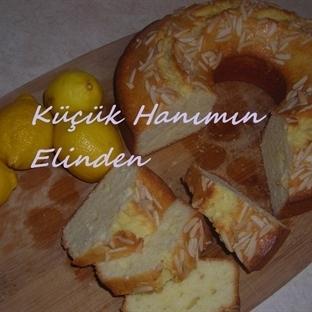 Bademli ve Limonlu Kek