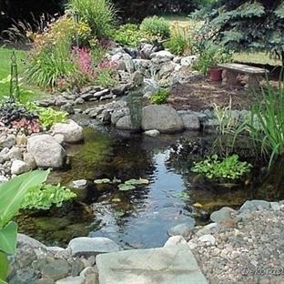 Bahçe Süs Havuzu Modelleri