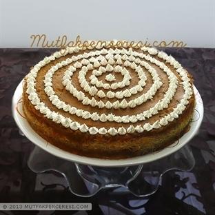 Bal Kabaklı Kremalı Kadayif Pastası