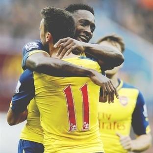 Balon Patladı: Aston Villa 0-3 Arsenal