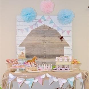 Bebekleriniz İçin Muhteşem Doğum Günü Masaları