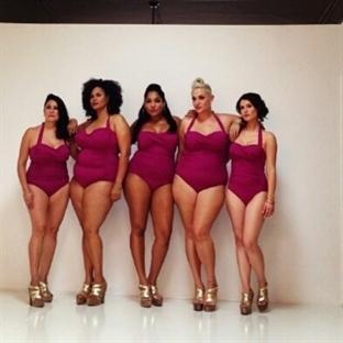 Bir kadının vücut değişimi!