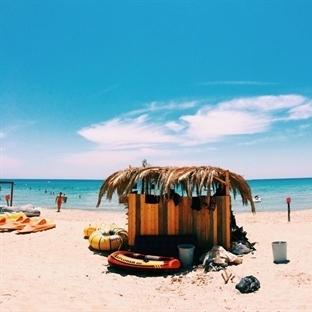 Çeşme Altınkum'da Ramo Beach (Tektekçi Kumsalda)