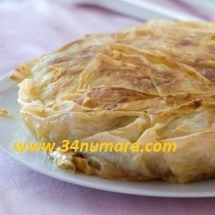 Enfes Patatesli Tepsi Böreği
