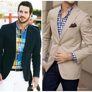 Erkeklerde 2015 Ekose Gömlekler ve Kombin Öneriler
