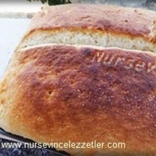 Evde Ön Mayalı Tava Ekmeği Yapımı