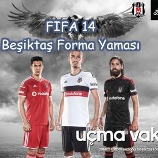 FIFA 14 Beşiktaş 2014/2015 Sezonu Forma Yaması