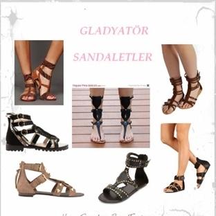 Gladyatör Sandaletler Her Yerde!