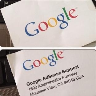Google'dan Mektubum Var!
