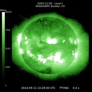 Güneş'teki Büyük Patlama Dünya'ya Doğru İlerliyor