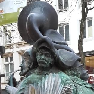 Heykeller şehri Lüksemburg