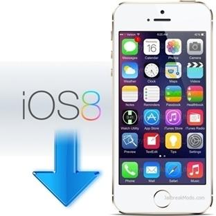 iOS 8.0.1 'den iOS 8 'e geri dönmek