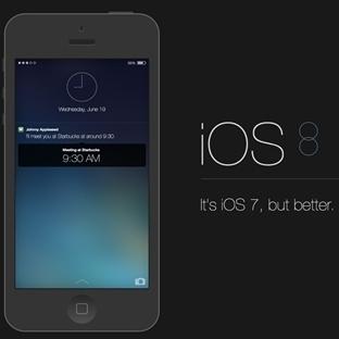 iOS 8 'den iOS 7 geri dönmek