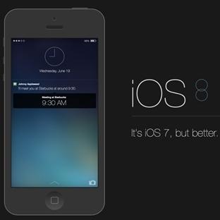 iOS 8 Özelliği