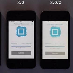 iPhone 4S Kullanıcıları İçin iOS 8 Performans Test