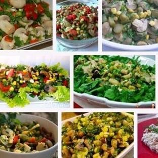 Karışık Mantar Salatasına Hayran Kalacaksınız