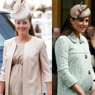 Kate Middleton'ın Hamile Stili