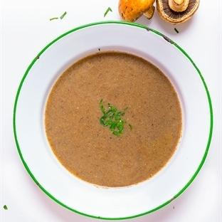 Kestane Mantarlı Çorba