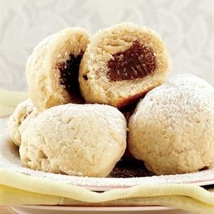 Kestane şekerli kurabiye