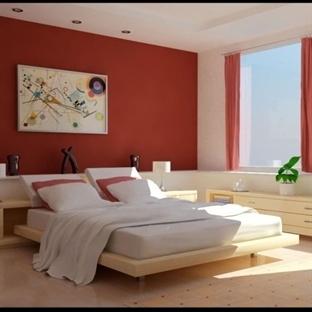 Kırmızı Yatak Odası Modelleri