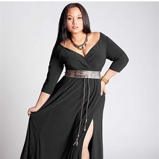 Kışlık Büyük Beden Elbise Trendleri