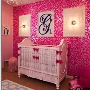Kız Bebekler İçin En Güzel Oda Dekorasyon Örnekler