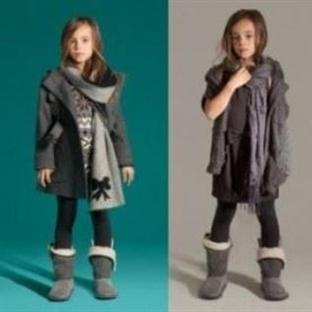 Kız Çocukları İçin Zara Etek Modelleri