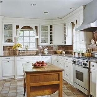 Klasik Mutfak Dekorasyon Fikirleri