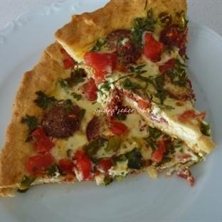 kolay mı kolay bir pizza