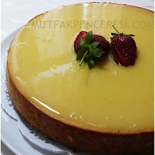 Limon Soslu Cheese Cake