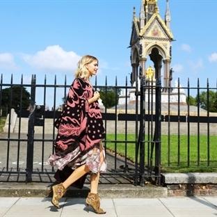 Londra Moda Haftasından Sokak Stilleri