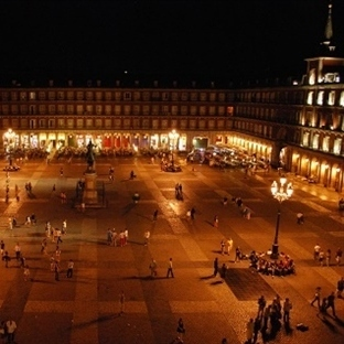 Madrid Plaza Mayor Meydanı