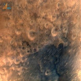 Mangalyaan Mars'tan İlk Fotoğrafi Yolladı !