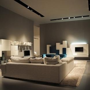 Modern Salon Dekorasyonları