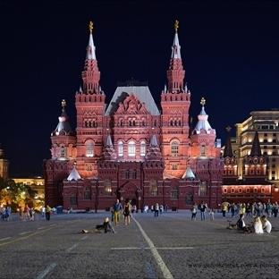 Moskova.. Kızıl Meydanın rengi ..