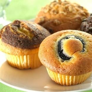 Muffin Kalıbında Kolay Kek Tarifi