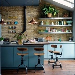 Mutfak Duvarları İçin Fikirler