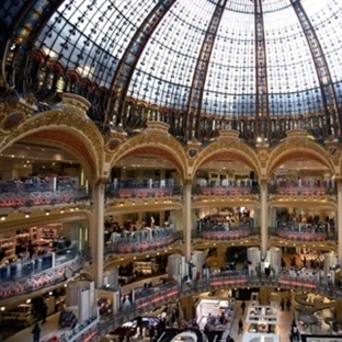 Paris Galeries Lafeyette Alışveriş Merkezi _ Paris