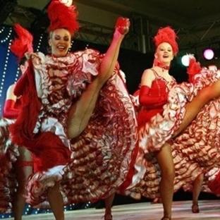 Paris Moulin Rouge Kabaresi
