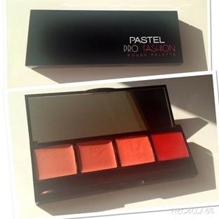 Pastel~Profashion Rouge Palette |4' lü Ruj Paleti