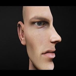 Photoshop ile Çift Yüz İllüzyonu